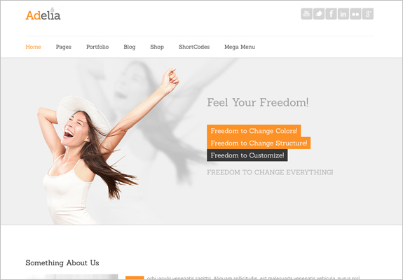 Wordpress theme for therapists