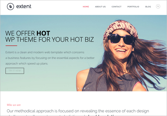 Wordpress theme for counseling business