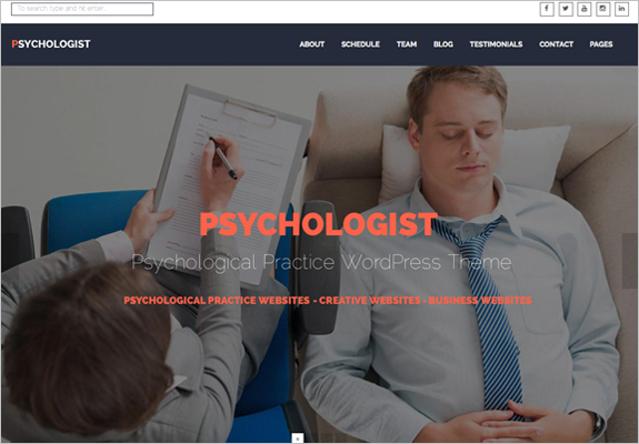 Therapist WordPress Themes