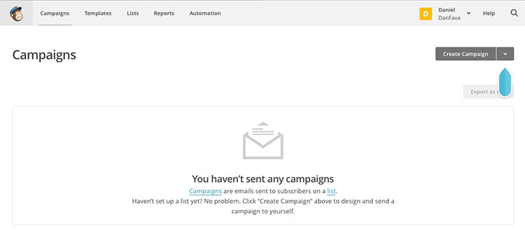 Set up your automatic email campaign