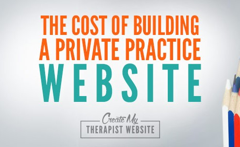 how much does it cost to create a private practice website?