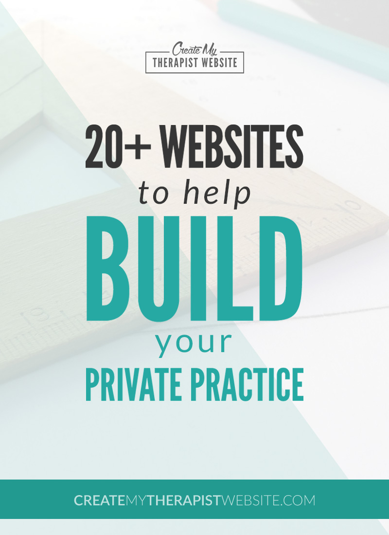 The Best Websites for Building a Private Practice | Create My ...