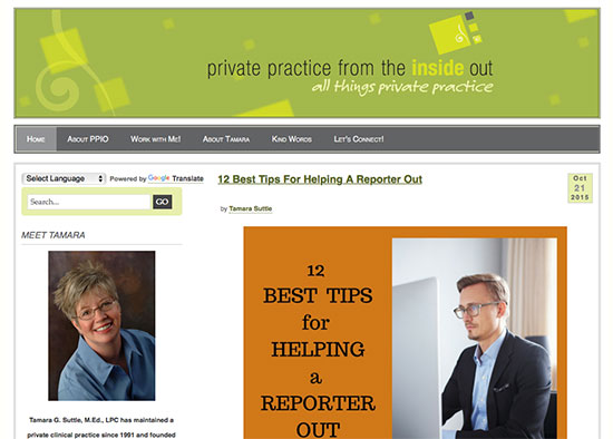 all things private practice website