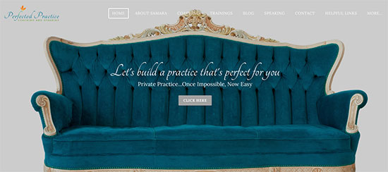 perfected practice homepage