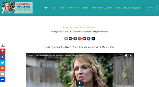 private practice toolbox homepage