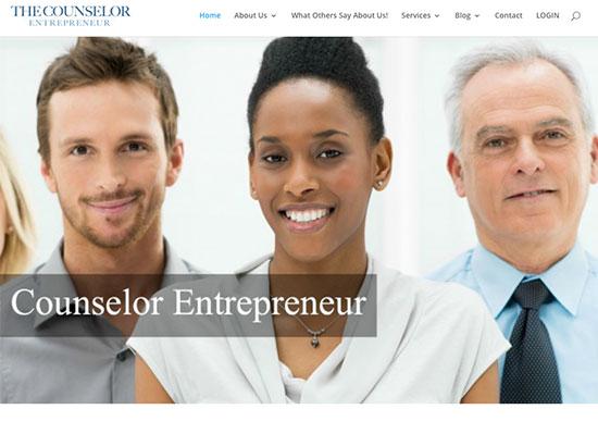 the counselor entrepreneur website