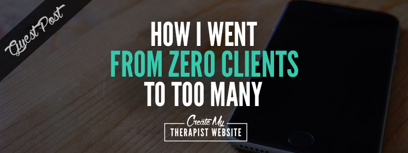 Learn how Jeff Guenther, LPC, used SEO tactics and specialty pages to target a specific keyword to get on the first page of Google and fill his therapy practice with a waiting list of clients.
