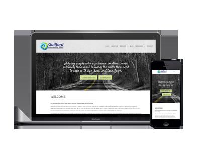 custom psychotherapy website design