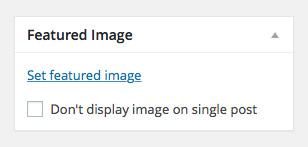 Make sure to set the featured image of your post for social sharing