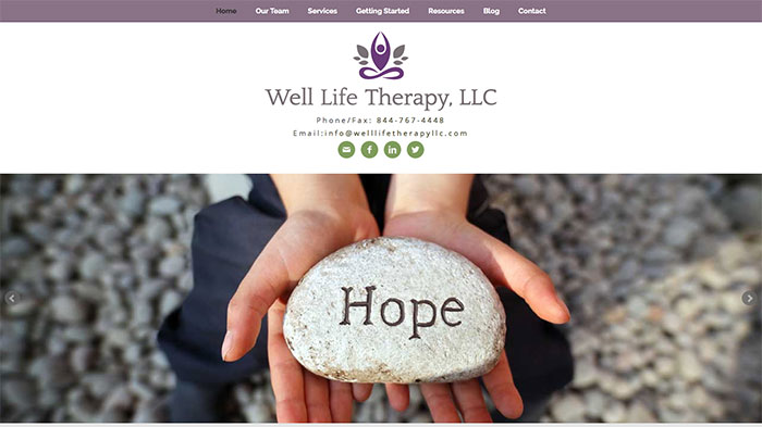 counseling and therapy website