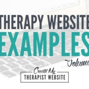therapist website examples