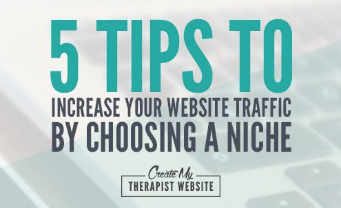 In today's post I'll tell you about my failed blogs and the importance of choosing a niche and how it can increase the RIGHT traffic coming to your therapy website.