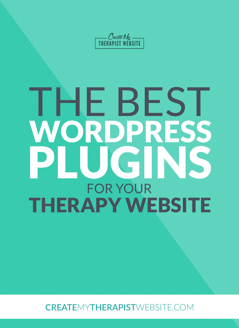 The Best WordPress Plugins for Your Therapy Website