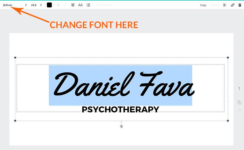 therapist logo design
