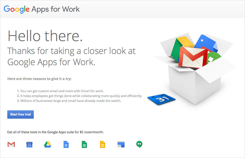 google apps private practice