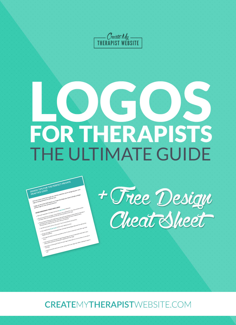 Your logo is the identity of your business and one of the first things clients may notice when landing on your therapy website. In this post we'll discuss your options for creating a logo to give your therapy practice a sense of identity and make you proud to flash your business cards any chance you get.