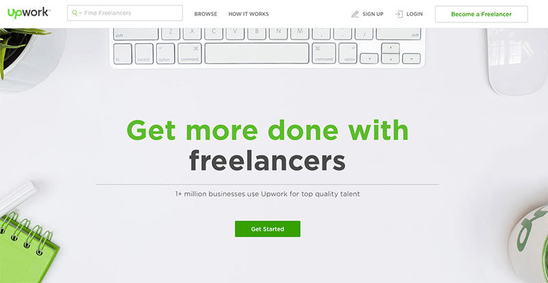 Use Upwork to find a freelance designer for your private practice logo design