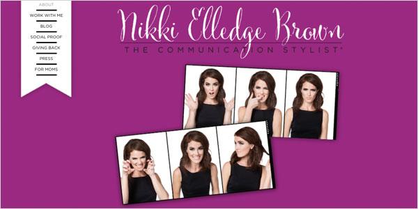 about page nikki elledge brown