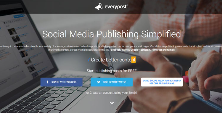 everypost social media marketing therapists