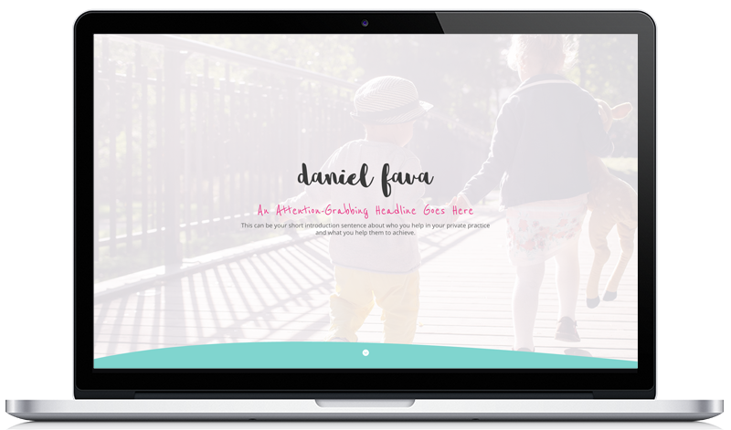 Customizable Therapy Website Template 2