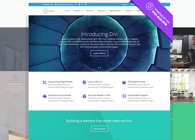 divi therapy website themes