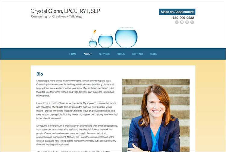 About Crystal Glenn LPCC RYT SEP