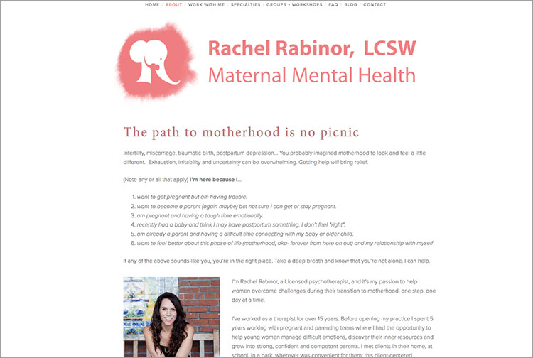 About Rachel Rabinor LCSW