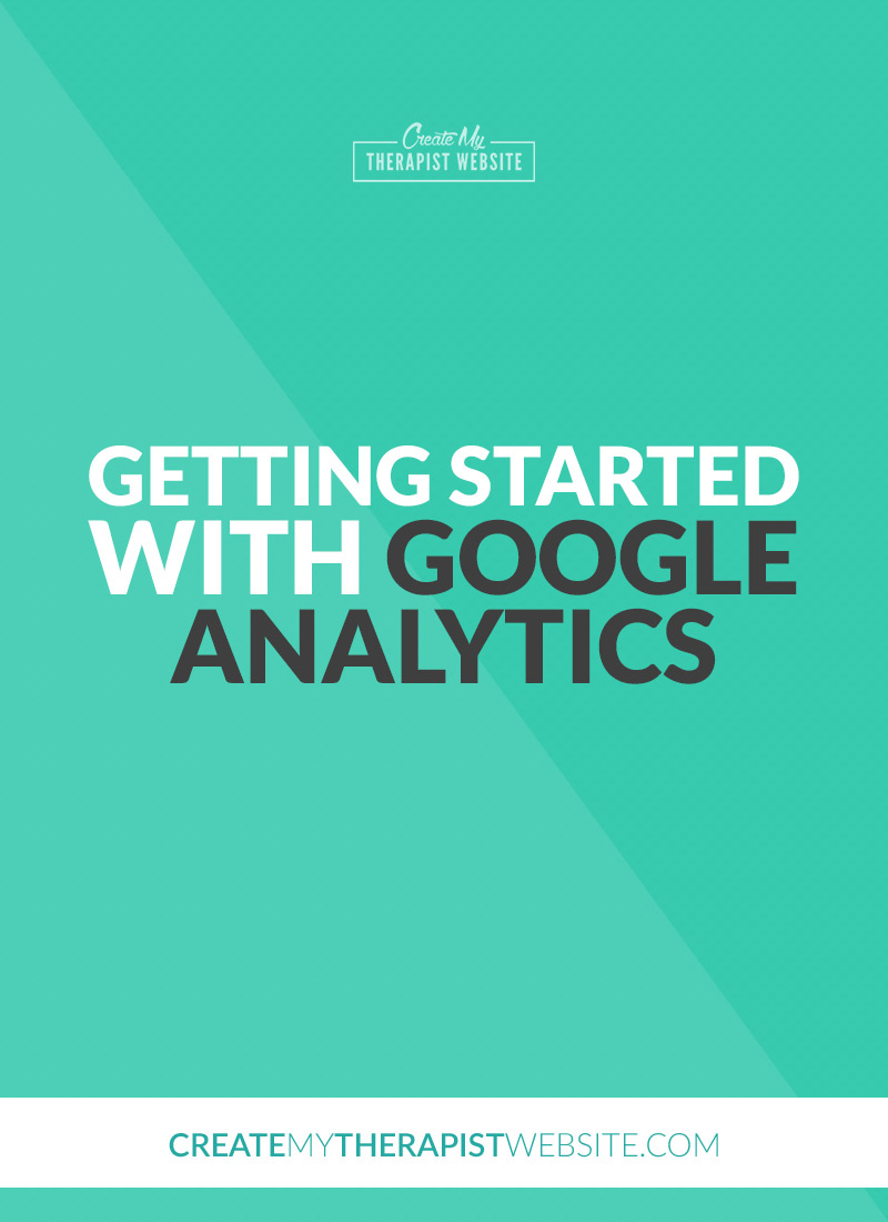 Getting Started With Google Analytics Pinterest. Understanding your audience is critical to the success of your private practice. Web traffic stats give you a clear picture of who is visiting, where they're coming from, how long they're on your site, and so much more. And with Google Analytics, all of this information is free!