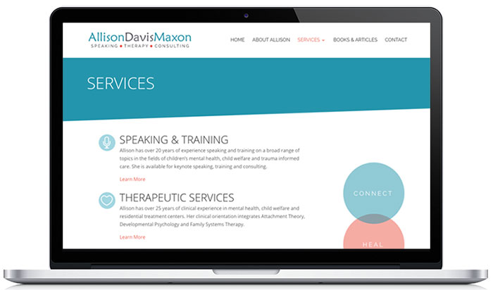 allison maxon therapy website services 1
