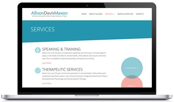 allison maxon therapy website services 1