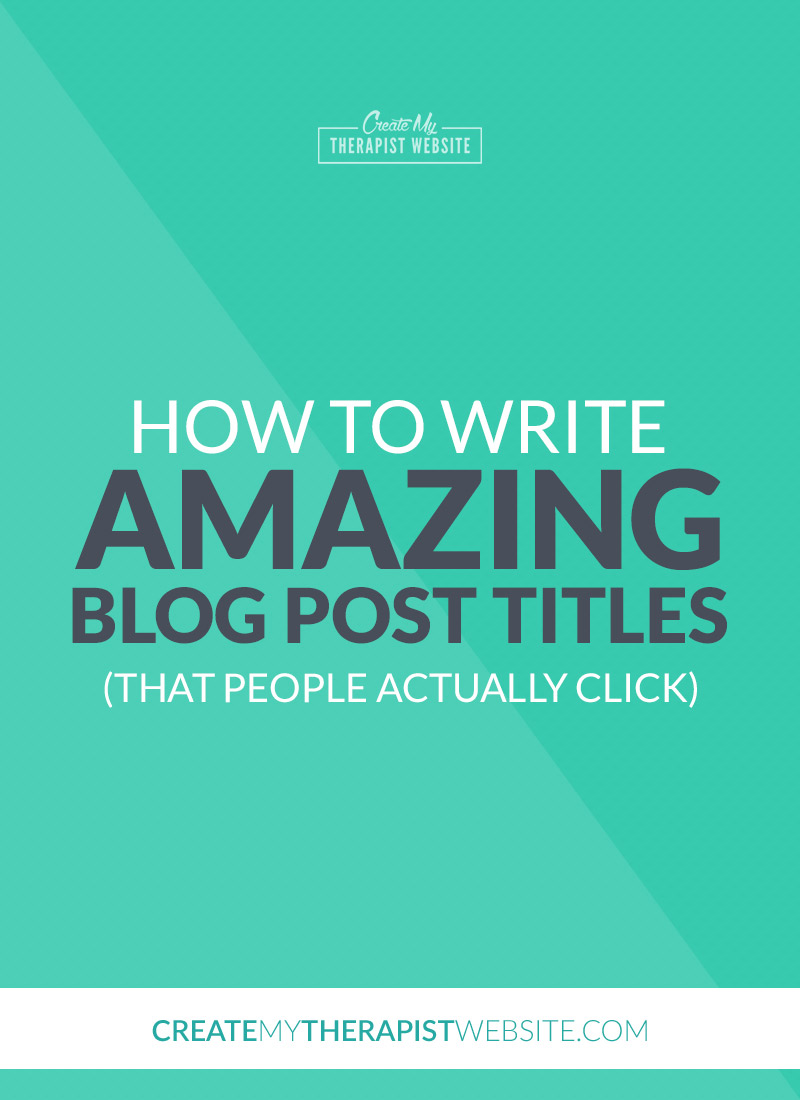 The titles of your blog posts are detrimental to the success of your content marketing. In a sea of Google search results and social media, the title of your post can mean the difference between a reader clicking for more or just brushing you aside. In this post we'll talk about 5 ways you can write catchy blog post titles that people can't help but click on.