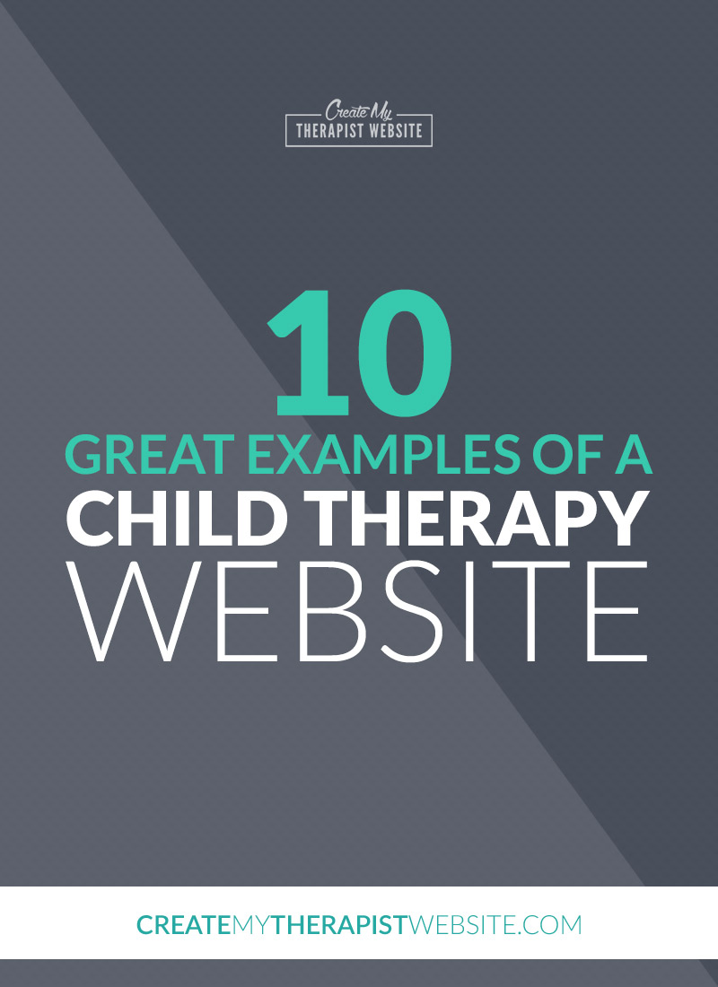 When thinking about creating a private practice website, it's always helpful to gather your inspiration before beginning the project. Looking at other therapist websites will spark ideas about what you like (and don't like), how you'd like your website to function and give you inspiration when writing your content. This week's article is for child therapists!: I've rounded up 10 great examples of child and play therapy websites you can use for inspiration for your own.