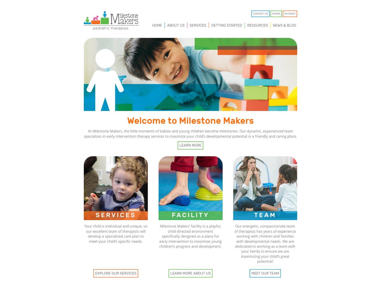Milestone Makers Pediatric Therapies