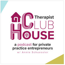therapist clubhouse podcast