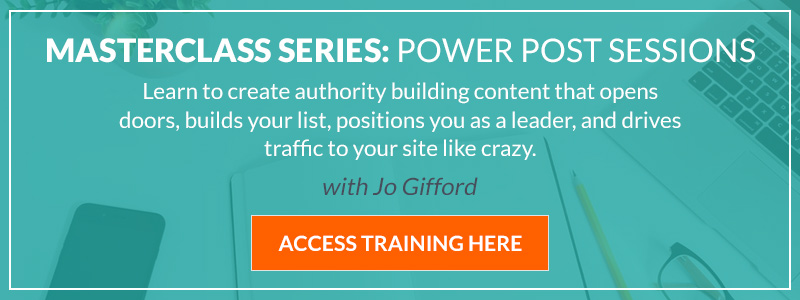 jo gifford power post