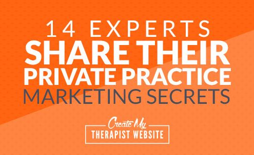 Building a private practice is hard. Like any business, there can be ups and there can be downs as you figure out how to market your therapy services. But the great news is, you don't have to do it alone. In this article, I'll share with advice from some of the leading coaches and teachers in private practice marketing.