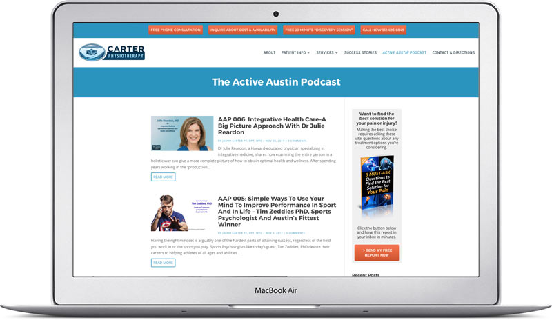 active austin podcast jarod carter