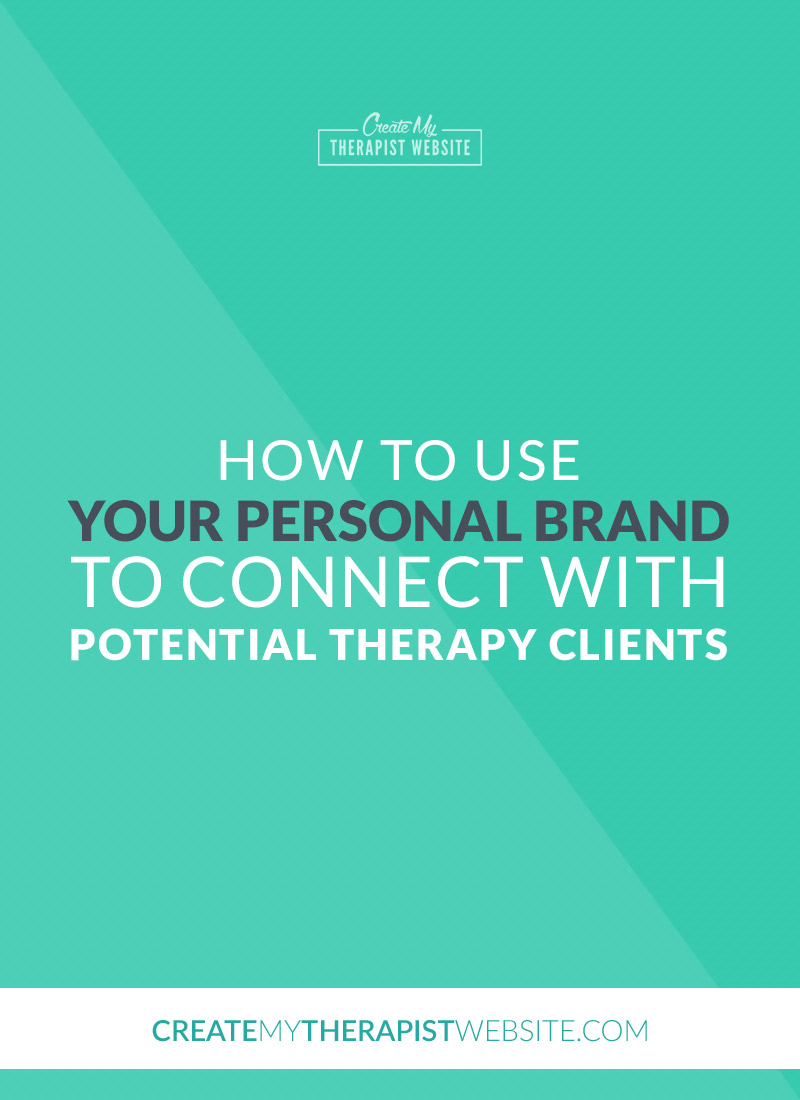 """A guest post by Ili Rivera Walter, PhD By now, I am sure you know that other than you, your website is your number one networking partner in attracting potential therapy clients. What you may not know, however, is that your website is the perfect place to communicate your personality, and what I call your """"personal brand."""""""
