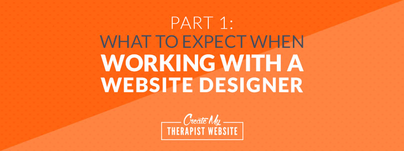 Hiring a professional designer to create your private practice website is a great investment that can help you grow your caseload. But what does it look like to work with a web designer? In this article I'll give you a behind-the-scenes look at how I work closely with my clients to create websites that are an asset to their private practices.