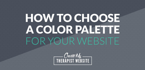 Color in website design has the power to evoke emotion, capture your target audience and represent the personality of your private practice. But how do you find a color palette that works for your website? In this article, we'll talk all about color and give you some resources to find the best palette for your private practice website