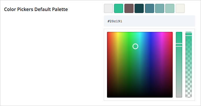 divi color picker