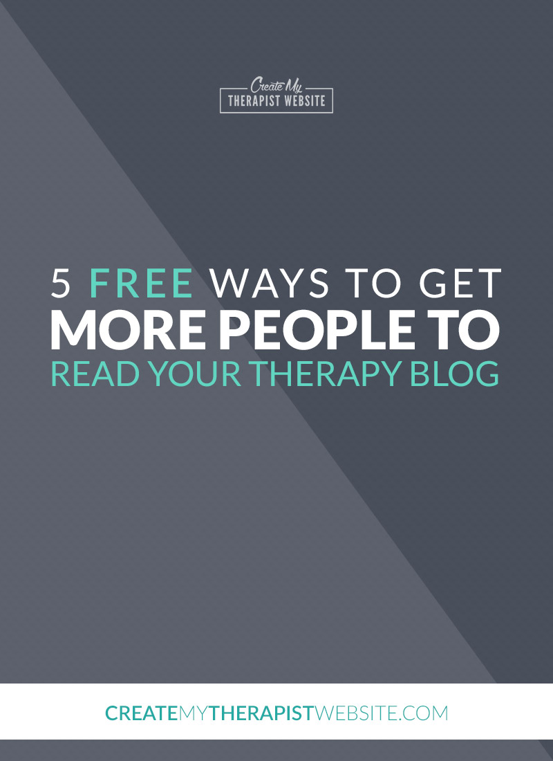 Blogging can be one of the best ways to boost traffic to your private practice website. But simply putting a post on your website isn't enough to ensure people actually read it. So what can you do? In this article we'll go over five ways you can boost your traffic with blogging while ensuring that visitors stick around and actually read your posts.