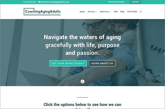 coaching aging adults font size blog