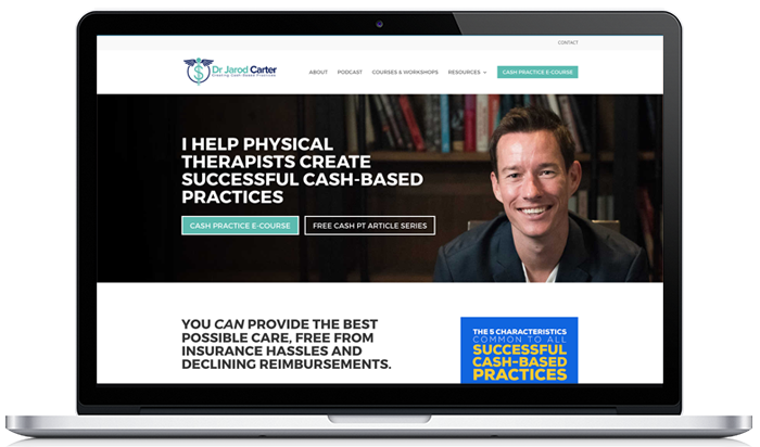 Physical Therapist website