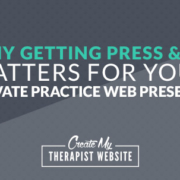 A guest post by Melody Wilding You've created an awesome website for your private practice. You've identified who your ideal client is and refined your niche. You're even blogging on a consistent basis! The only problem is, no one is reading your content or signing up to work with you because they don't know your practice exists.
